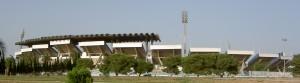 منظر خارجي للملعب الأولمبي بالمنزه