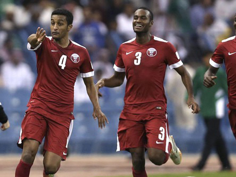 الجزائري بوعلام يهدي قطر خليجي 22