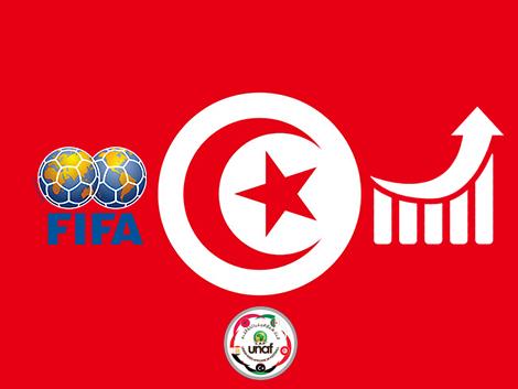 ترتيب الفيفا الشهري للمنتخبات : تونس ترتقي للمركز الثاني و العشرين بعد 16 عام