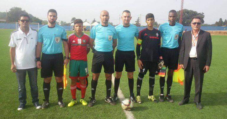 بالصور … المنتخب الليبي يباغت نظيره المغربي بدورة اتحاد شمال افريقيا لمواليد 2002