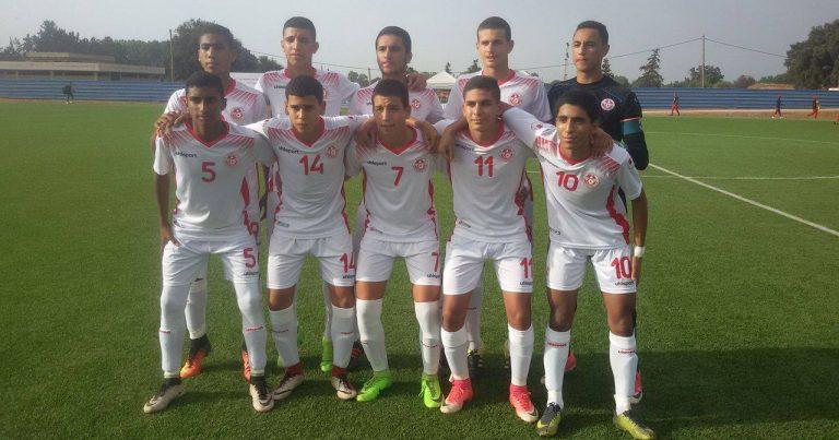 المنتخب التونسي يتوج بدورة اتحاد شمال افريقيا لمنتخبات مواليد 2002