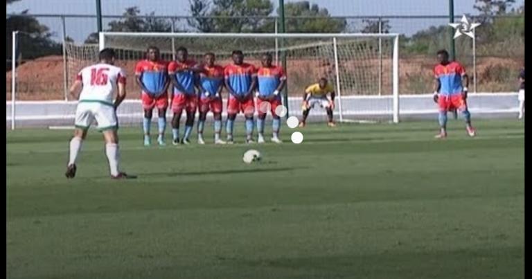 بالفيديو اهداف المباراة الودية للمنتخب المغربي المحلي امام الكونغو الديمقراطية 3-1