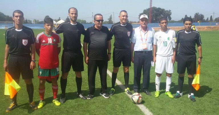 بالصور … المنتخب الجزائري يفتك التعادل من نظيره المغربي بدورة اتحاد شمال افريقيا لمواليد 2002