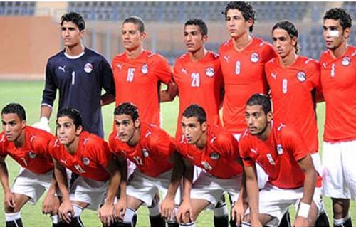 المنتخب المصري للاواسط في تربص من 23 جانفي الى غرة فيفري استعدادا لتصفيات الكان