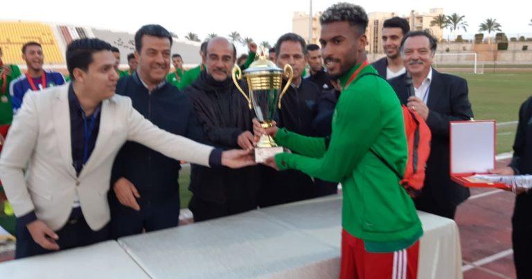منتخب المغرب يتوج بكأس دورة اتحاد شمال افريقيا تحت 18 عاما