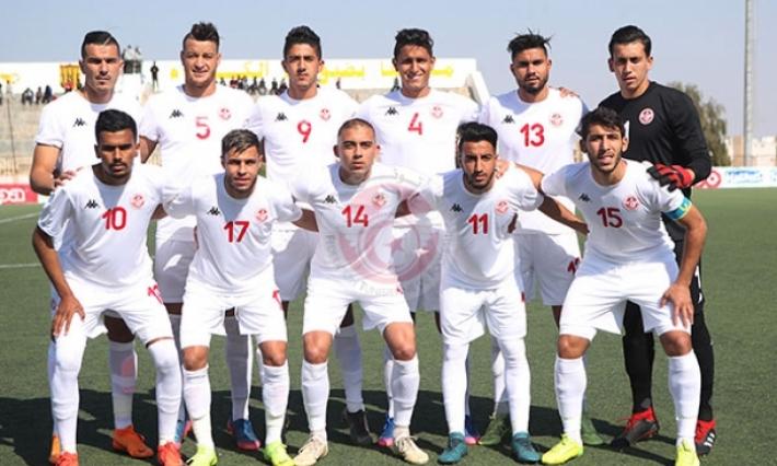 23 لاعبا في قائمة المنتخب التونسي لمباراتي الكاميرون بالتصفيات الاولمبية