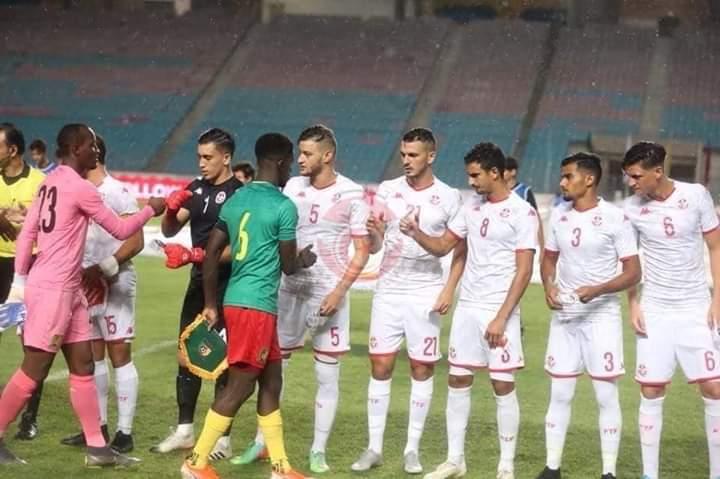 نهائيات كاس افريقيا للامم 2019 المؤهلة لاولمباد 2020:  المنتخب الاولمبي التونسي ينسحب ضد الكامرون