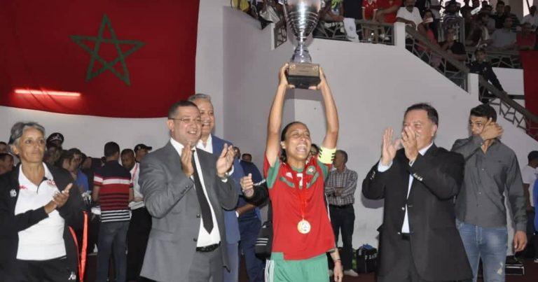 البوم صور مراسم تتويج دورة اتحاد شمال افريقيا لكرة القدم تحت 20 عاما