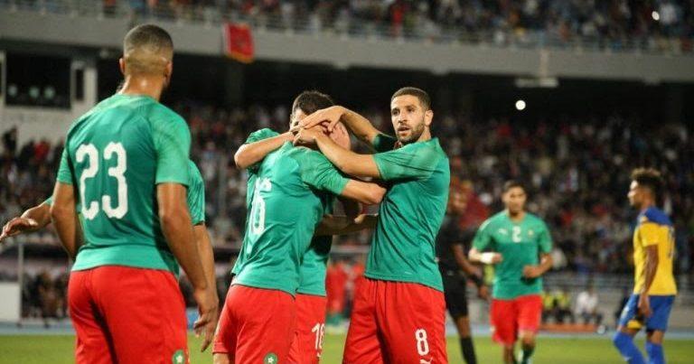 في مباراة ودية دارت بطنجة : المنتخب المغربي انهزم ضد الغابون ب 3/2