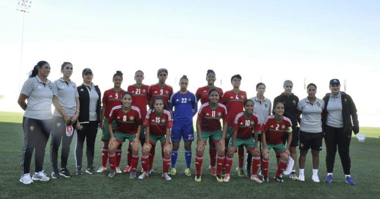 المغرب يحقق فوزه الثالث على التوالي ويتوج بلقب بدورة اتحاد شمال افريقيا للسيدات تحت 20 عاما