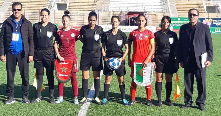 المنتخب الجزائري يتعادل سلبيا مع نظيره المغربي بدورة اتحاد شمال افريقيا النسائية تحت 21 عاما