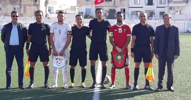 المنتخب المغربي يفوز على نظيره الجزائري في الجولة الاخيرة من دورة اتحاد شمال افريقيا تحت 20 عاما