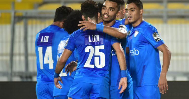ذهاب نصف نهائي كأس رابطة الأبطال الإفريقية :   الزمالك المصري يفوز على الرجاء المغربي في مركب محمد الخامس