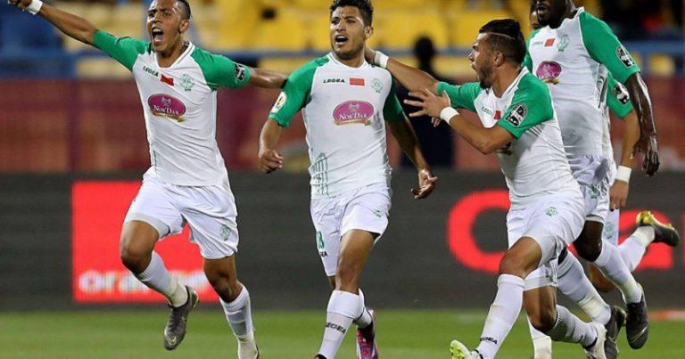 الرجاء بطلا للدوري المغربي الممتاز للمرة 12 في تاريخه