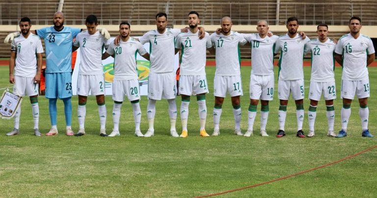 بعد التعادل مع منتخب زمبابوي 2/2:  محاربو الصحراء ضمنوا تأهلهم لنهائيات الكامرون 2021