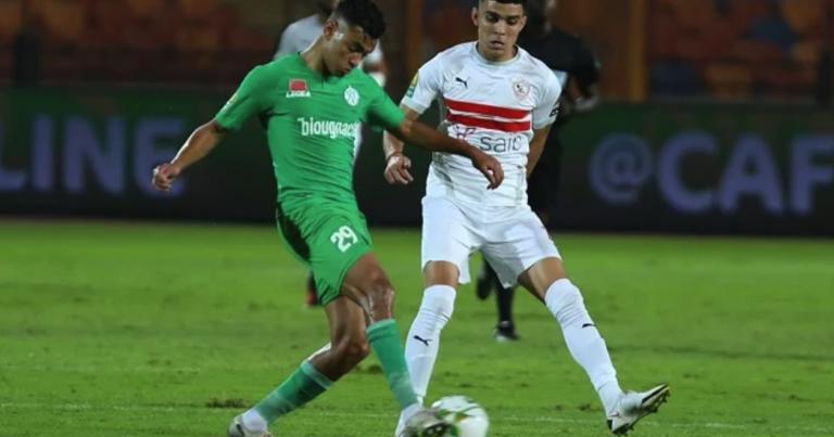 الزمالك المصري يهزم مجددا الرجاء المغربي ويتأهل لنهائي كاس رابطة الابطال
