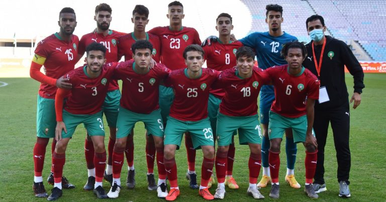نهائيات كاس افريقيا للامم لمنتخبات اقل من 20 سنة موريتانيا 2021 : منتخب اسود الاطلس يفوز في اولى مبارياته