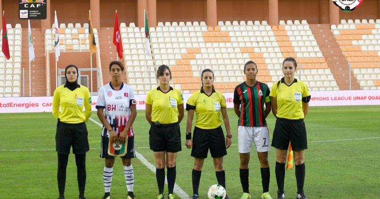 الجيش الملكي المغربي يمطر شباك نادي بنك الاسكان التونسي ب10 اهداف ويتأهل إلى المرحلة النهائية لدوري أبطال أفريقيا للأندية النسائية