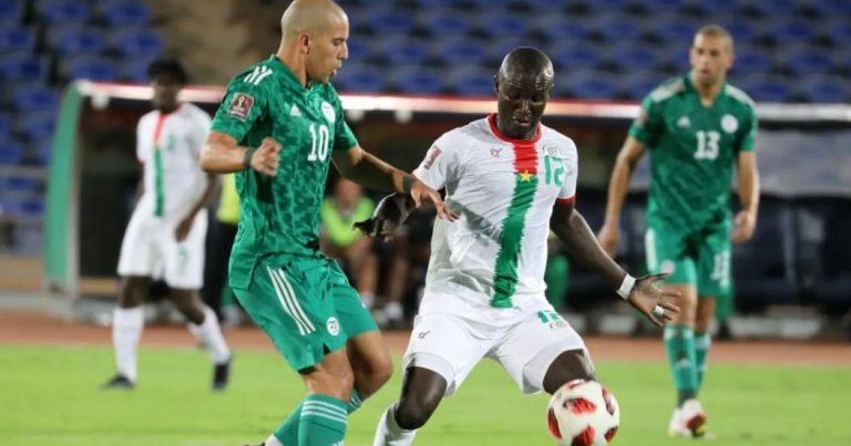 الجولة الثانية من تصفيات مونديال 2022:  تعادل منتخب محاربو الصحراء ضد بوركينافاسو