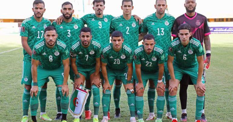 تصفيات مونديال 2022: المنتخب الجزائري يفوز على النيجر برباعية
