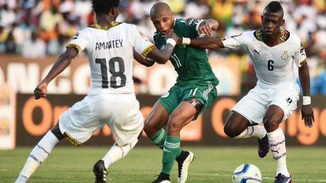 جيان يخطف فوزاً قاتلاً لغانا أمام الجزائر بأمم أفريقيا