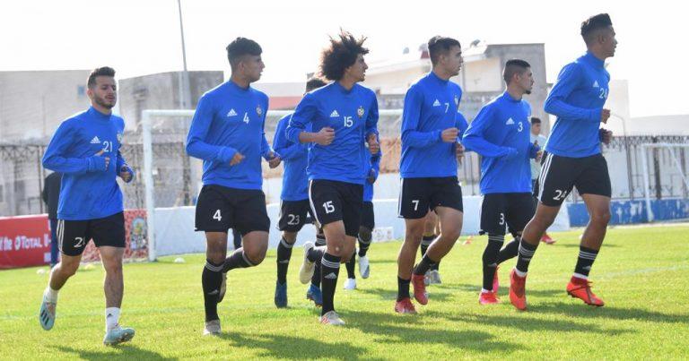 صور من المباراة الملغاة بين منتخبي ليبيا ومصر ضمن الدورة الترشيحية لاتحاد شمال افريقيا لكرة القدم تحت 20 عاما المؤهلة إلى نهائيات كأس الأمم الإفريقية  2021