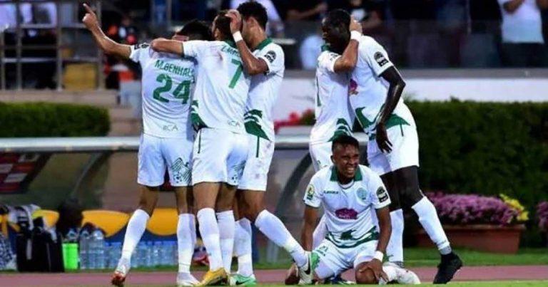 دوري مجموعات كأس الكونفدرالية الإفريقية :  الرجاء المغربي يحقق إنتصاره الخامس على التوالي