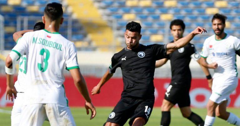 ذهاب نصف نهائي كأس الكونفدرالية :  بيراميدز المصري يتعادل مع الرجاء المغربي
