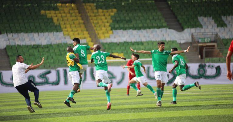 فريق النصر يفوز بكأس السوبر الليبي