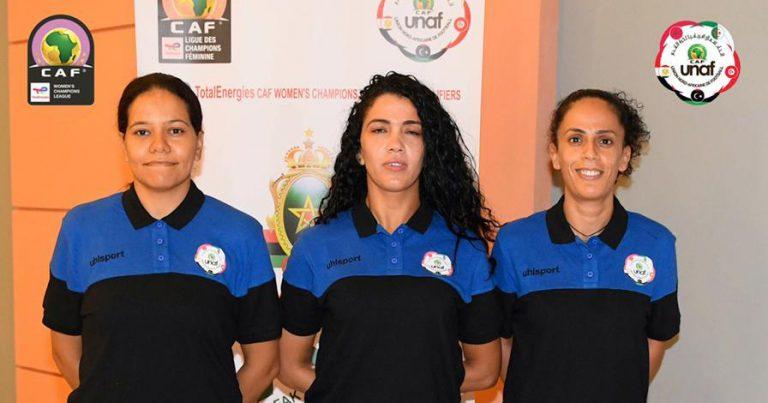 طاقم تحكيم تونسي لمقابلة الجيش الملكي وآفاق غليزان بتصفيات دوري أبطال أفريقيا للأندية النسائية
