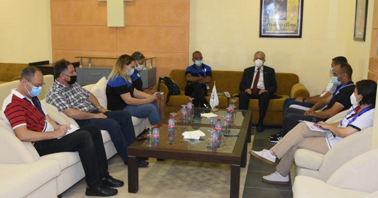اجتماع اللجنة الطبية للدورة الترشيحية لاتحاد شمال افريقيا لكرة القدم المؤهلة الى نهائيات دوري ابطال افريقيا للاندية النسائية