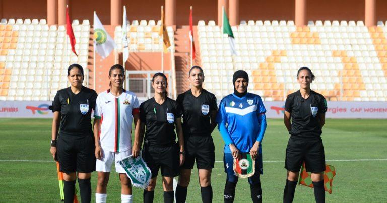 تصفيات دوري أبطال أفريقيا للأندية النسائية – الجيش الملكي المغربي يتغلب على افاق غليزان الجزائري ورهان التاهل للنهائيات يحافظ على تشويقه للجولة الختامية