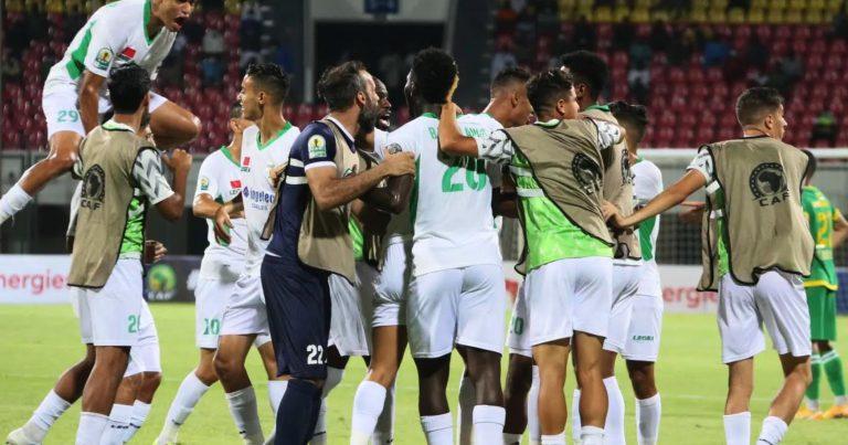 الرجاءالمغربي يتوج بكأس الكونفدرالية للمرة الثالثة في تاريخه