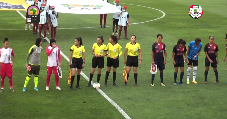 ملخص المباراة الاولى بتصفيات دوري أبطال أفريقيا للأندية النسائية بين آفاق غليزان الجزائري ونادي بنك الاسكان التونسي