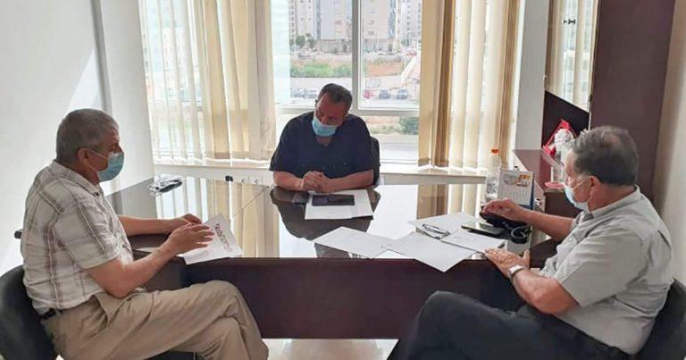 رئيس اتحاد شمال افريقيا يجتمع بالمدير التنفيذي للاتحاد …